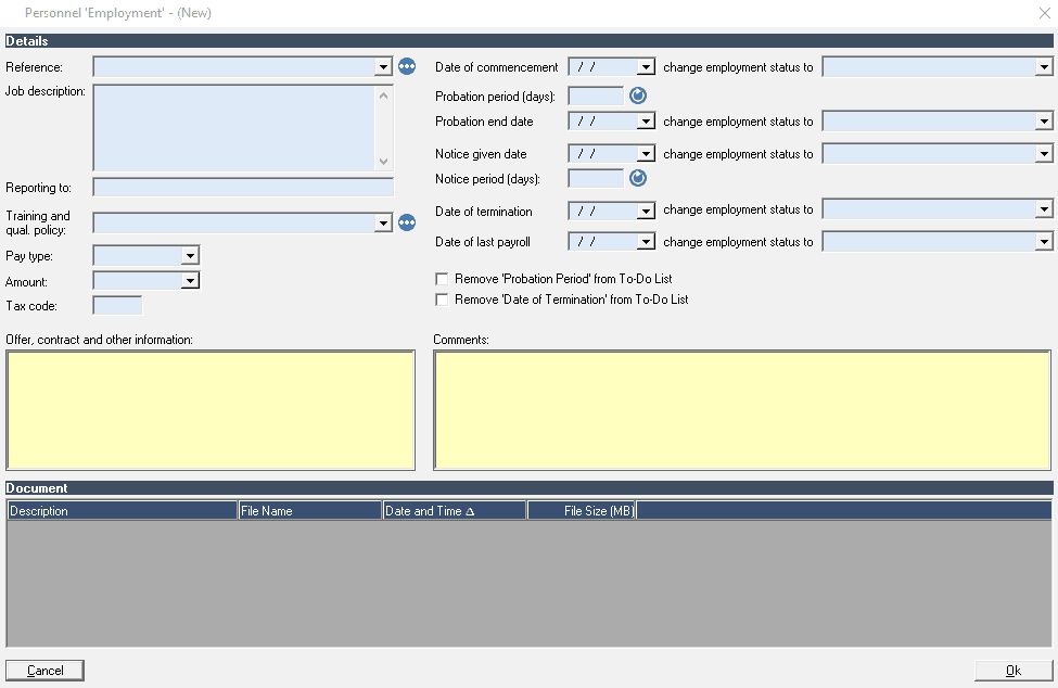 personnel software