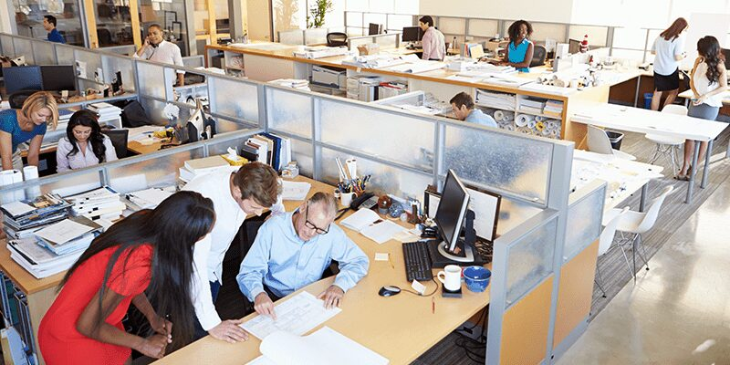 HR Department analysing payroll data