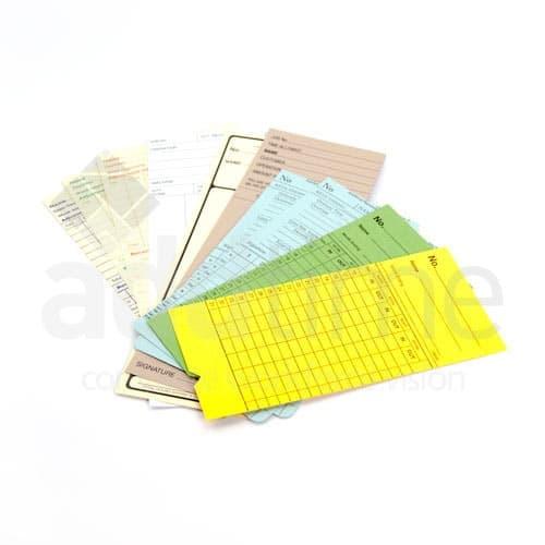 Bespoke Clocking In Cards