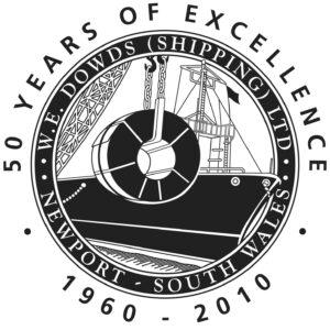 50 year Logo - we downs