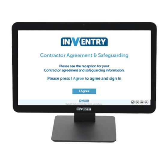 Inventry Contractors Screen
