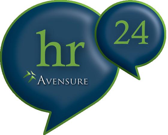 Avensure hr24 logo